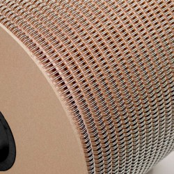 Wire-o para Encadernação 2x1 BOBINA Branco 1'' (25,4mm) para 200 Folhas – Com 4.500 Anéis