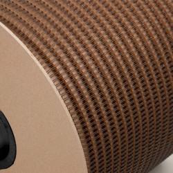 Wire-o para Encadernação 2x1 BOBINA Prata 1'' (25,4mm) para 200 Folhas – Com 4.500 Anéis